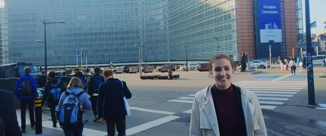 Pia berichtet vom Bundesausschuss 2018 in Brüssel